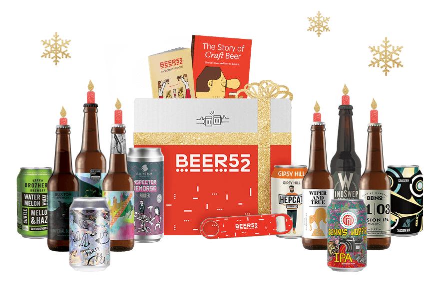 Craft beer bundle worth £60 for £35.95 - no subscription @ Beer52
