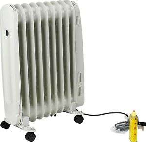 Challenge 2kw oil filled radiator in white on castors with 3 heat settings & frost guard £18.99 delivered @ eBay sold by Argos