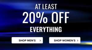 Runners Need 20% off sitewide including Sale items