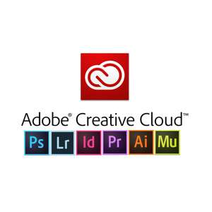 Adobe Creative Cloud Black Friday deal - £30.34pm instead of £49.94 for 12 months.