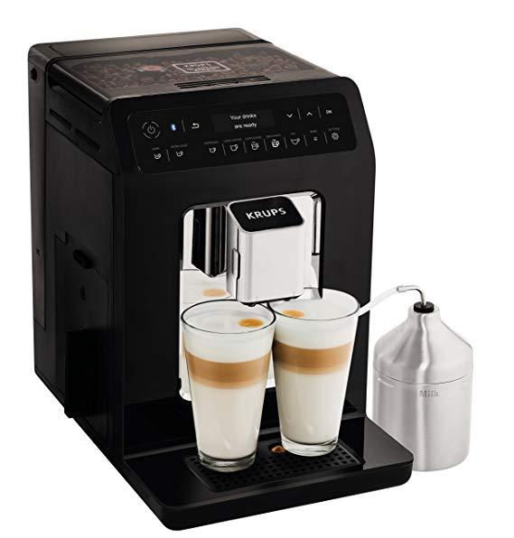 Krups Evidence EA893840 Automatic Espresso Bean to Cup Coffee Machine, Black £429.99 @ Amazon