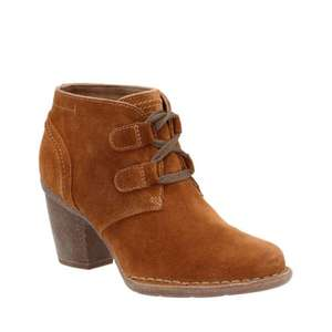 Extra 25% off Clarks outlet  with code ALLBF plus free delivery eg Carleta Lyon Tan suede boots were £70 now £18.75 delivered