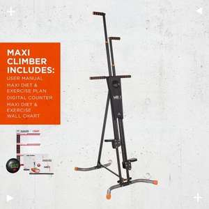 MaxiClimber Vertical Climbing Fitness System by New Image £93.59 High Street TV