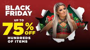 WWE Euroshop Black Friday Sale - 25% off entire site inc clearance, items from just 75p, T-Shirts from £3 ( + flat £4.25 p&p)