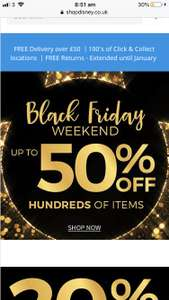 Black Friday - Disney ShopDisney - Up To 50% off hundreds of items