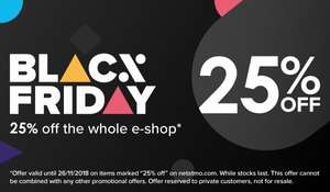 25% off at the Netatmo e-shop for Black Friday