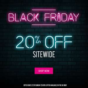 20% off all NYX products and free delivery over £30