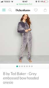 Ted baker women's onesie save 50% now only £27.50 . More nightwear deals in comments