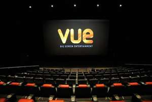 Two tickets to Vue Cinema for £9.49 at Wowcher
