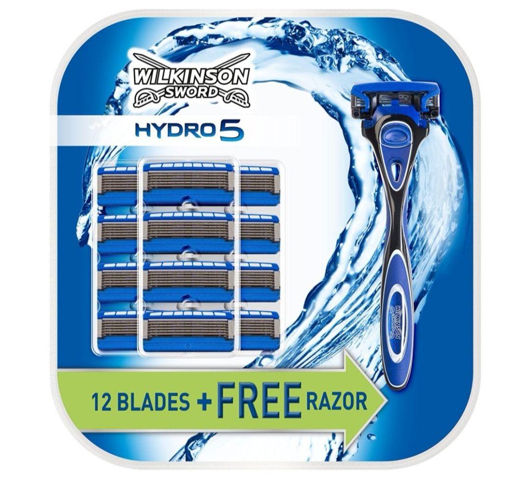 Wilkinson Sword Hydro 5. 13 blades Inc Razor. Now £14.99. Reduced from £27.50. Wilkinson Sword.
