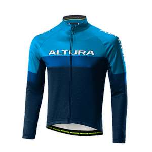 Altura Mens long sleeve thermo Jersey £16.49 RRP £49.99 all sizes and colour @ Altura