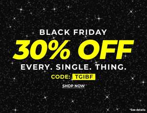 Black Friday Sale - 30% Off Everything inc Sale w/code + Free C+C @ Forever21  - over 6000 Men's / Women's items in the up to 50% off sale