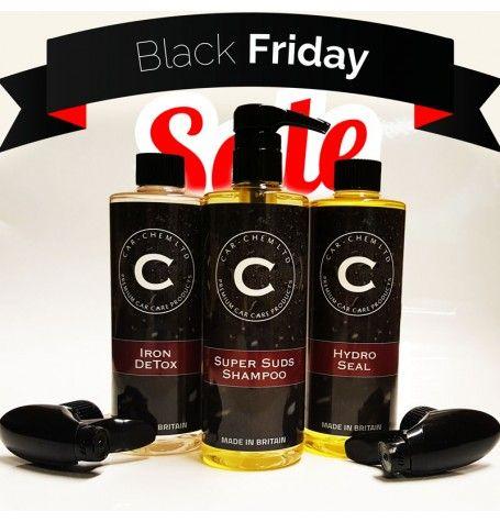 Black Friday Trio Kit 500MLSave 50% £16.22 @ carchem