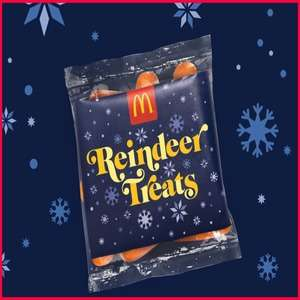 Free reindeer carrots  from McDonalds on Christmas Eve