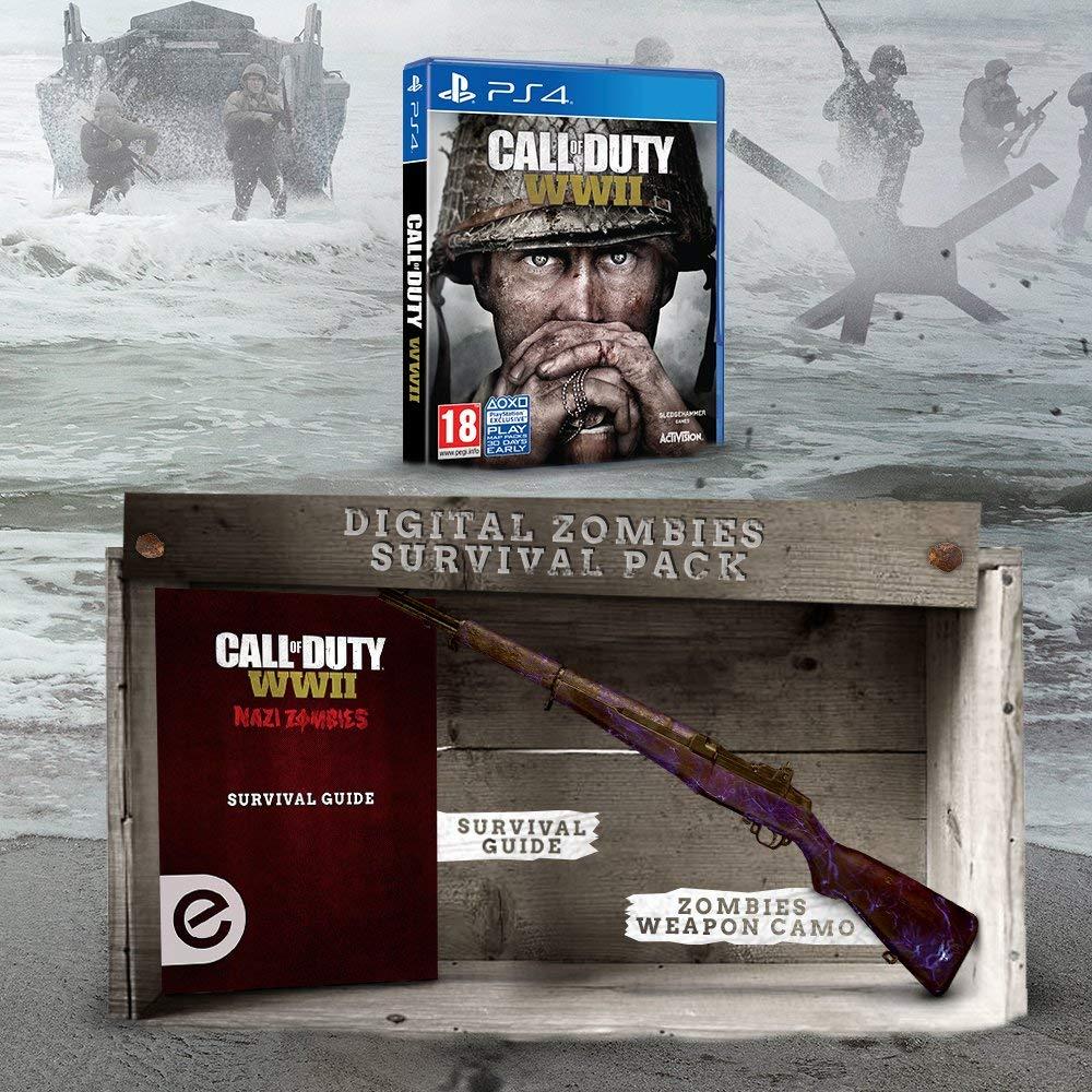 Call of Duty WW2 PS4 £7.19 @ Amazon Warehouse (As new) Prime / £9.18 non-Prime