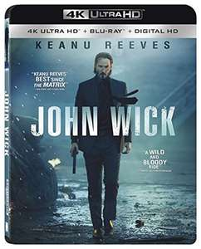 John Wick 4K Ultra HD [Blu-ray + Digital HD] £10.63 delivered  - Amazon.com