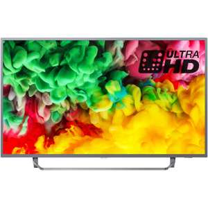"Philips 65PUS6753 65"" Smart Ambilight 4K Ultra HD with £40 cashback quidco £675 @ AO"