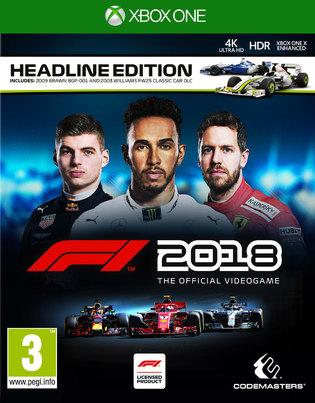 F1 2018: Headline Edition [Xbox One/PS4] £21.85 @ Shopto