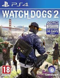 Watch Dogs 2 (PS4) £6.79 Delivered (Used) Music Magpie