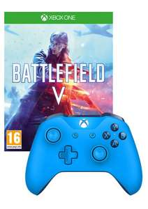 Battlefield V Xbox One Game and Wireless Xbox One Controller Pack (Various colours!) £69.85 @ Simply Games