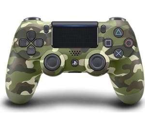 SONYDualShock 4 V2 Wireless Controller - Green Camo/Magma Red/Wave Blue/Black/White For Only £29.99 @ Currys