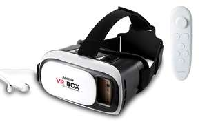 Vr headset £4 (£3.20 with cashback) + £1.99 delivery @ Groupon