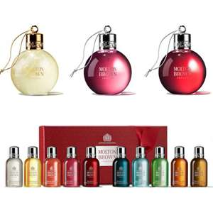 25% off Selected Molton Brown + Free Del [Free Gift when buying 2] @ Menkind  (Also Just the Bauble £7.50 Each delivered )