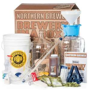 Northern Brewer Deluxe Brewery in a Box Starter Kit was £175 now £78.75 with discount code @ Beerhawk