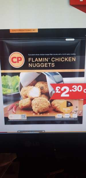 1.5kg of Hot spicy Chicken Nuggets at £6.69 at Costco