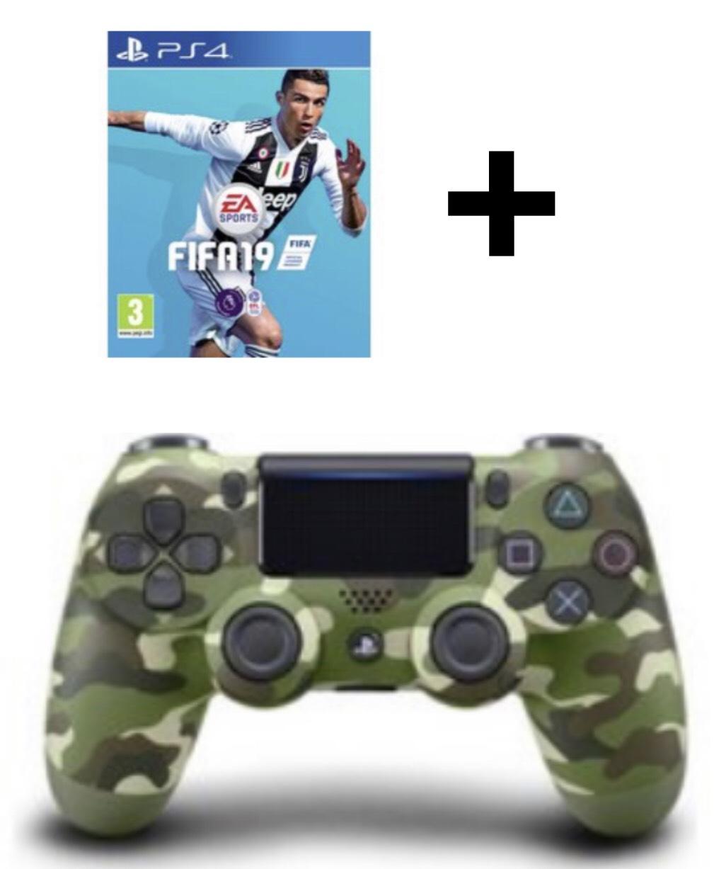 PS4 V2 Controller + Fifa 19 £59.99 @ Argos (colours - White / Black / red / blue / camo green)