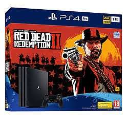 PS4 Pro Red Dead Redemption 2 Bundle £319.99 with £10 off £100 Spend (in store)