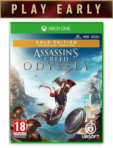 Assassins creed odyssey gold edition xbox one at Shopto for £49.85