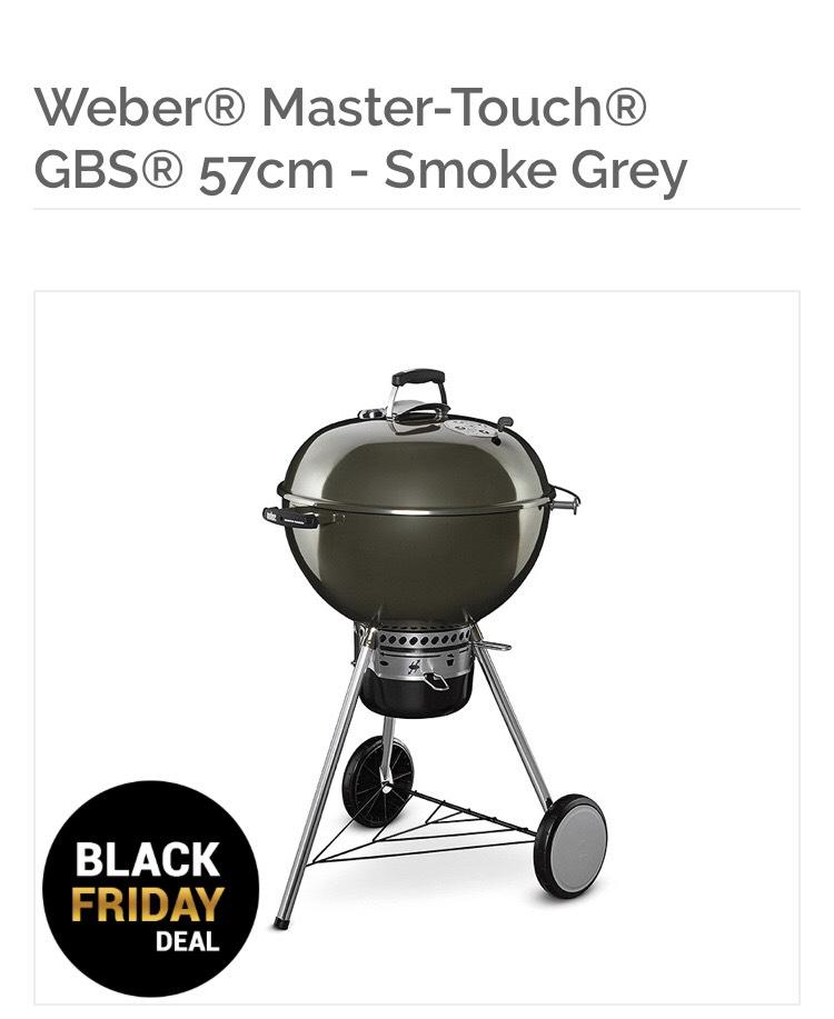 Weber Master Touch 57cm Lowest EVER price! £160 Delivered @ Riverside Garden Centre
