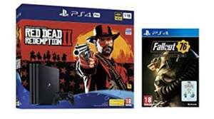 PS4 pro with 2 games (red dead redemption 2, fallout 76) - £339.99 @ Amazon