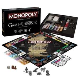 Game of Thrones Collectors Edition Monopoly £18.36 @ Tom Top