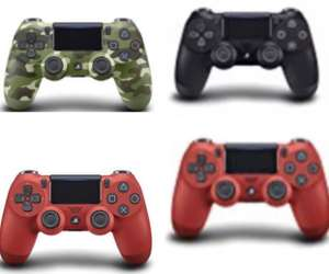 PS4 v2 controller [red/camo green/ blue/ black] £29.95 / white £29.99 @ Amazon (price matched)  - Further Price drops!