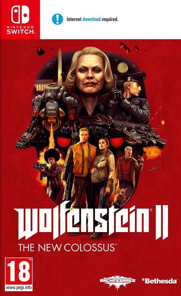 Wolfenstein 2: The new Colossus (Nintendo Switch) £31.95 @ Coolshop