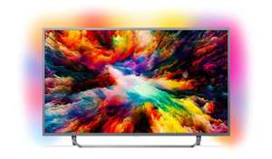 Philips 50PUS7303/12 50-Inch 4K Ultra HD Android Smart TV with HDR Plus and Ambilight 3-sided - Dark Silver (2018 Model) £474 @ Amazon