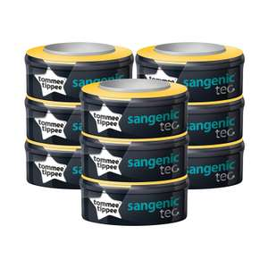 Pack of 9 Tommee Tippee Sangenic Tec refill cassettes at Amazon for £24.99