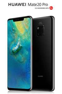 Huawei Mate 20 Pro - vodafone 24 months 80GB Unl Mins Texts £37PM - £888 @ Mobile Phones Direct