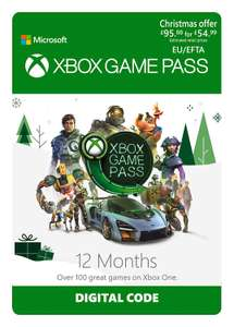 Xbox Game Pass - 12 Month Membership [Download Code] - £47.99 @ Amazon