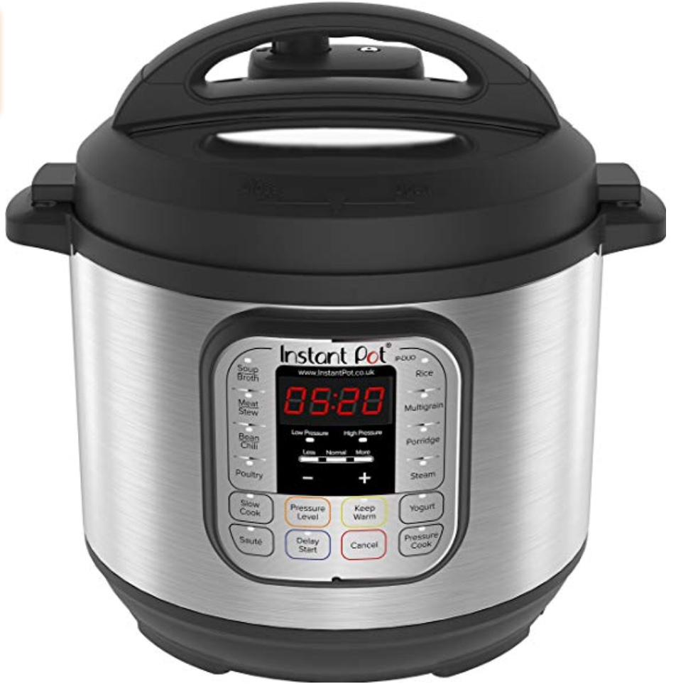 Instant Pot Duo 6 Qt Electric Pressure Cooker, £79.99 @Amazon.