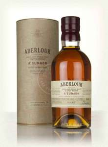 Aberlour A'Bunadh Cask Highland Single Malt Scotch Whisky, 70 cl - 61.2% (Prime - Deal of the day)
