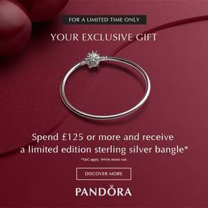 Pandora Black Friday - Offer stack, save 20% and Free Bangle @ Jewel Hut