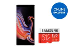 Samsung Note9 Dual SIM with Free 512GB memory card online offer £999 at Samsung