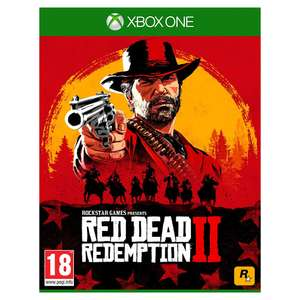 Red Dead Redemption 2 for Xbox One £29.99 (£2.99 delivery / or c+c ) @ Hughes