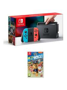 Neon Nintendo Switch Console w/ Paw Patrol £229 Delivered with code @ Very