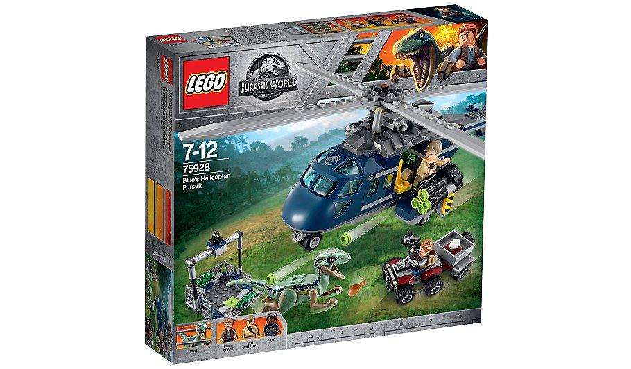 LEGO 75928 Jurassic World Blue's Helicopter Toy £32.97 @Asda