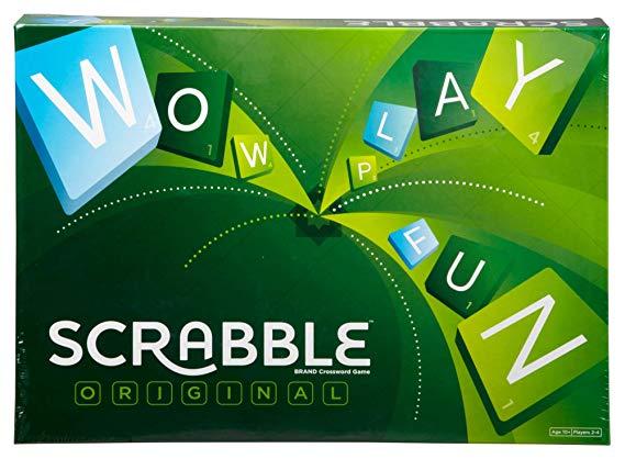 Scrabble Original by  Mattel (£9.99 Prime / £14.98 Non-Prime) Amazon