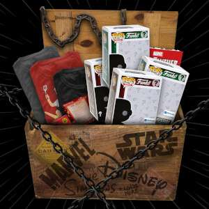 Free £100 crate when buying a Marvel/Disney/Star Wars Collectors Coin Advent Calendar £59.99 Zavvi